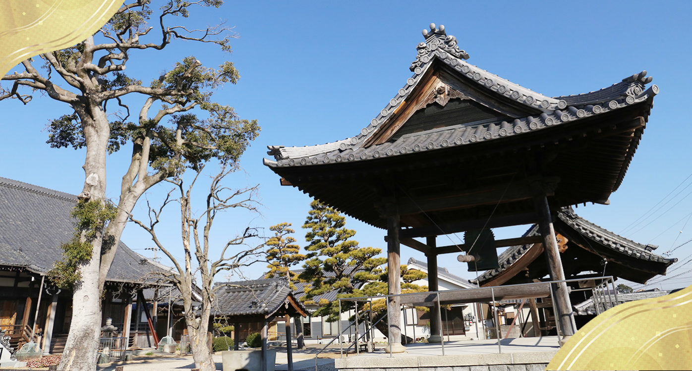 お寺の写真